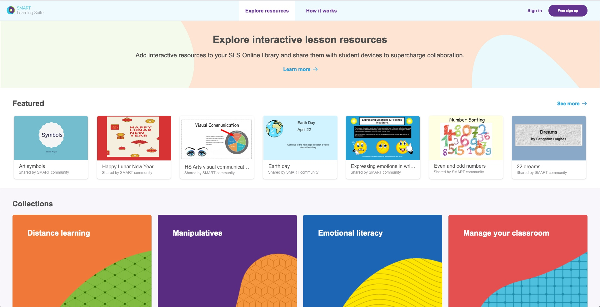 SMART Learning Suite Resource Library