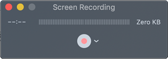 Recorder - mac