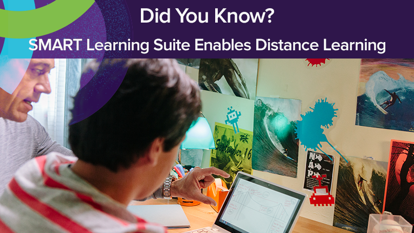 SMART Learning Suite Online Supports Distance Learning